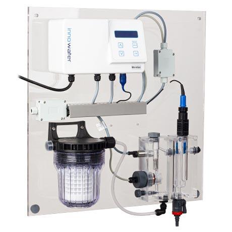 cloracion salina piscina monitor