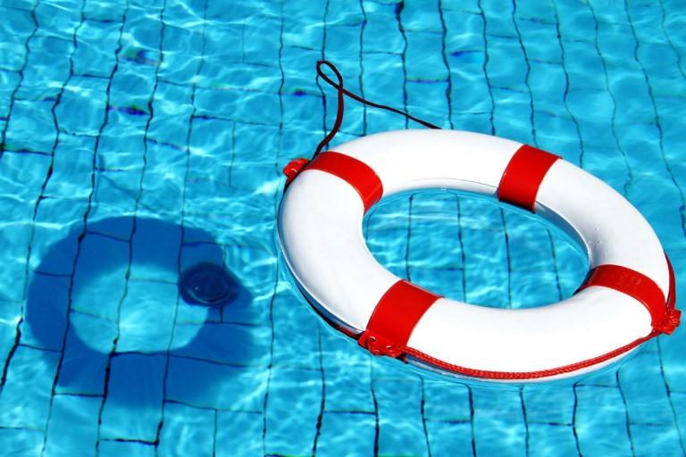 Seguridad en piscina