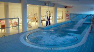 piscina residencia mayores